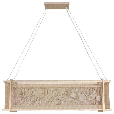 Fascination 4-Light Kitchen Island Pendant Finish: Zen Gold