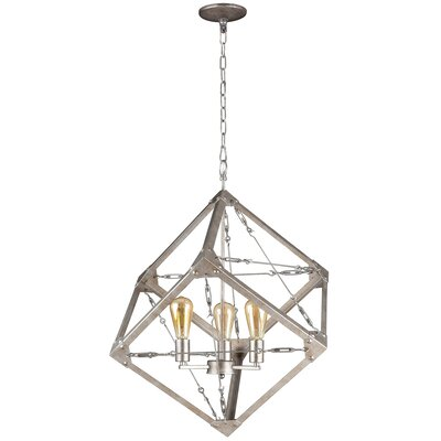 Askew 3-Light Foyer Pendant