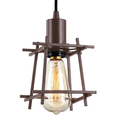 Hashtag 1-Light Mini Pendant