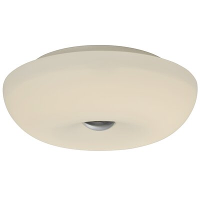 Swirled 2-Light Flush Mount Size: 3.75 H x 12 W x 12 D