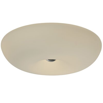 Swirled 3-Light Flush Mount