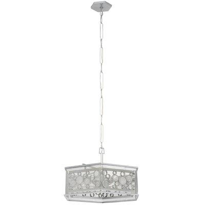 Fascination Hex 6-Light Foyer Pendant Finish: Metallic Silver