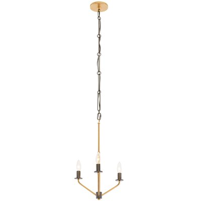 Jake 3-Light Candle-Style Chandelier