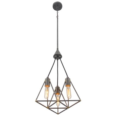 Trini 3-Light Geometric Pendant