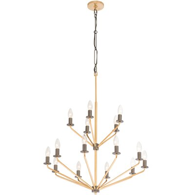 Jake 15-Light Candle-Style Chandelier