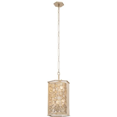 Fascination Hex 6-Light Foyer Pendant Finish: Zen Gold