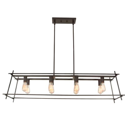 Hashtag 8-Light Kitchen Island Pendant
