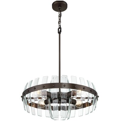Carson 4-Light Drum Pendant