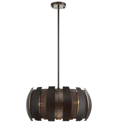 Sawyers Bar 2 Tone 3-Light Foyer Pendant