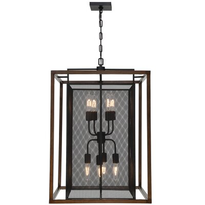 Rio Lobo 8-Light Foyer Pendant