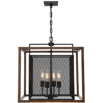 Rio Lobo 4-Light Foyer Pendant