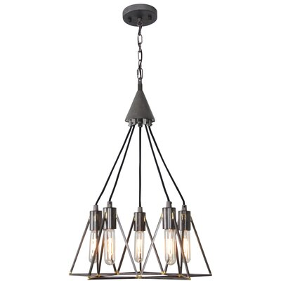 Trini 6-Light Geometric Pendant
