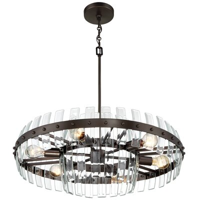 Carson 6-Light Drum Pendant