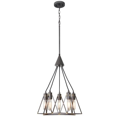 Trini 5-Light Geometric Pendant