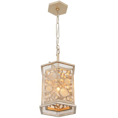 Fascination Hex 1-Light Foyer Pendant Finish: Zen Gold
