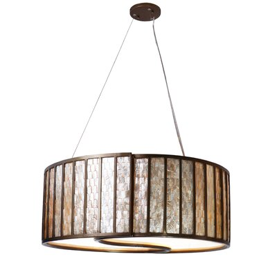 Affinity 4-Light Drum Foyer Pendant