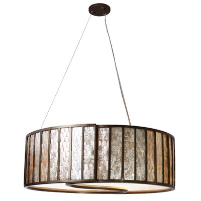 Affinity 5-Light Drum Foyer Pendant