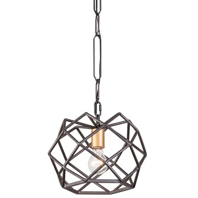 Geo 1-Light Geometric Pendant