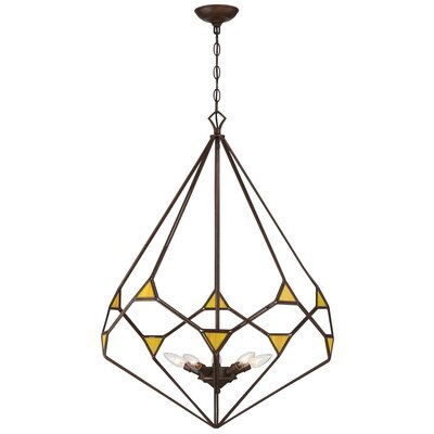 Gemma Stone 5-Light Foyer Pendant