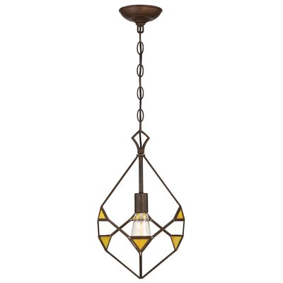 Gemma Stone 1-Light Foyer Pendant