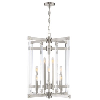 Halcyon 12-Light Chandelier Finish: Satin Nickel