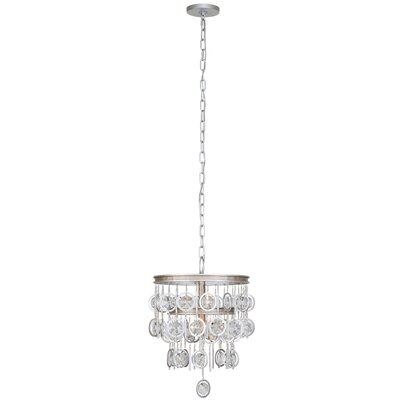 Charmed 3-Light Crystal Chandelier