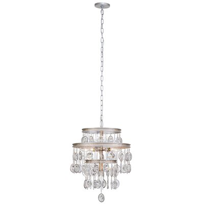Charmed 7-Light Crystal Chandelier