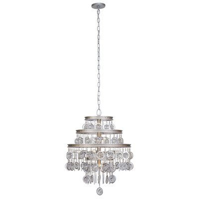 Charmed 9-Light Crystal Chandelier