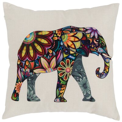Casa Elephant Throw Pillow