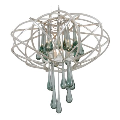Area 51 3-Light Pendant Finish: Pearl