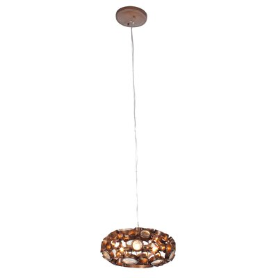 Fascination 3-Light Mini Chandelier Color: Steel