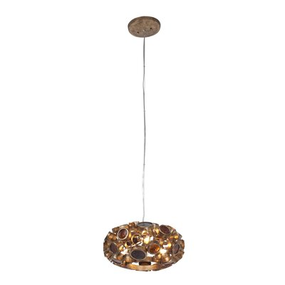 Fascination 3-Light Mini Chandelier Finish: Kolorado