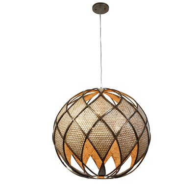 Argyle 5-Light DownLight Drum Foyer Pendant