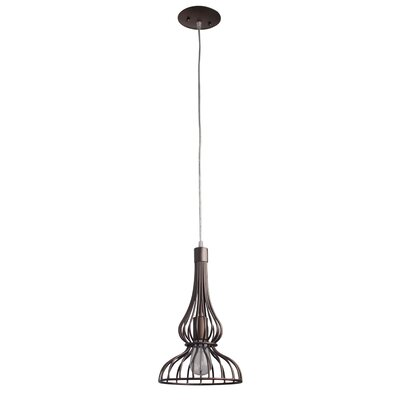 Clout Mini Pendant Finish: Bronze Clubs, Size: 10.75 x 10