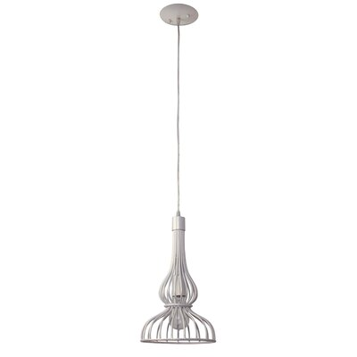 Clout Mini Pendant Finish: Pearl Clubs, Size: 14 x 8.5