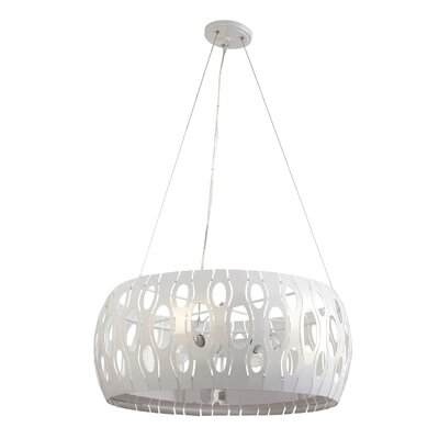 Masquerade 4-Light Mini Pendant Finish: Pearl