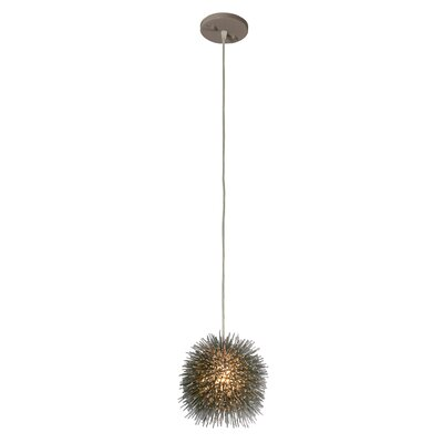 Urchin 1-Light Globe Pendant Finish: Painted Chrome