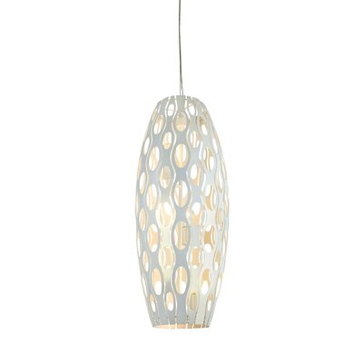 Masquerade 3-Light Foyer Drum Foyer Pendant Finish: Pearl
