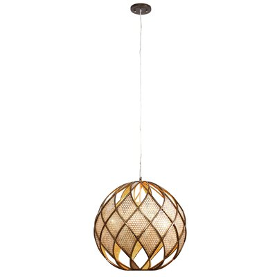 Argyle 4-Light DownLight Drum Foyer Pendant