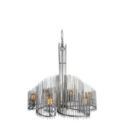 Spikotic 6-Light Candle-Style Chandelier