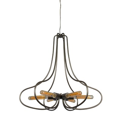 The Whole Package 6-Light Foyer Pendant