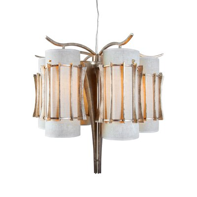 Occasion 6-Light Shaded Chandelier