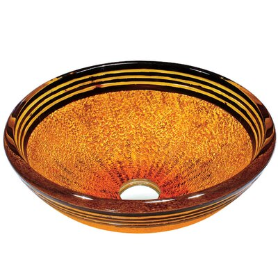 Tangerine 19mm Tempered Glass Vessel Sink