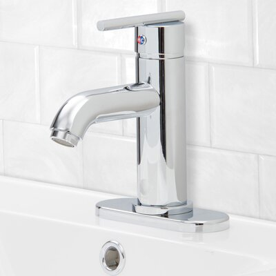 Setai Single Handle Centerset Bathroom Faucet Finish: Chrome