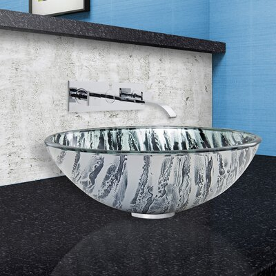 Rising Moon Circular Vessel Bathroom Sink