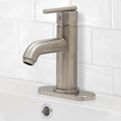 Setai Single Handle Centerset Bathroom Faucet Finish: Brushed Nickel