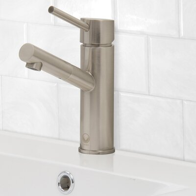 Noma Single Lever Basin Bathroom Faucet Finish: Brushed Nickel