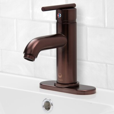 Triana Single Handle Centerset Bathroom Faucet Finish: Oil Rubbed Bronze