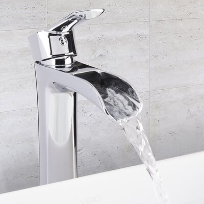 Niko Single Lever Vessel Bathroom Faucet Finish Chrome