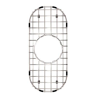 Stainless Steel Bottom Grid, 6.75-in. x 14-in.